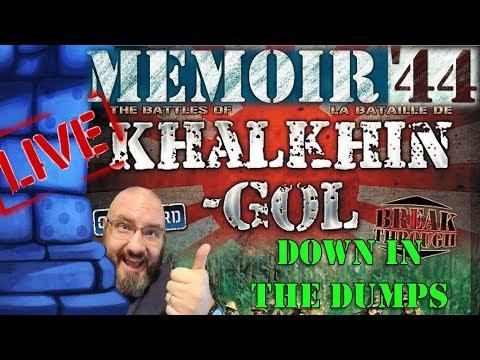 LIVE!! Sam vs. The Internet (Memoir '44 Khalkhin-Gol Campaign 6/8)