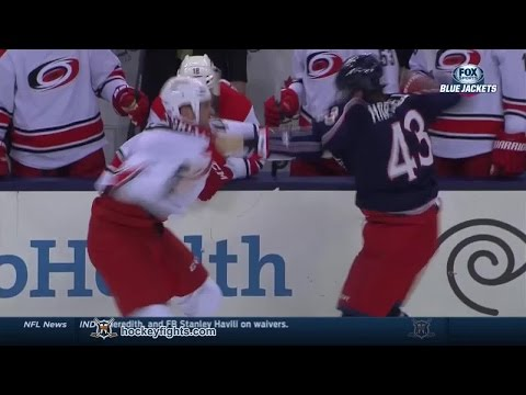 Scott Hartnell vs. Jay Harrison