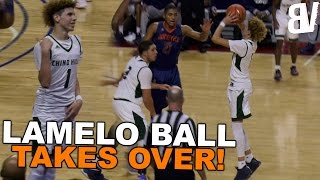 LaMelo Ball TAKES OVER! Chino Hills CRAZY Three Point Shootout VS Roosevelt FULL HIGHLIGHTS