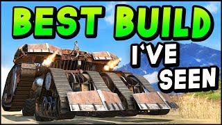 Лучший билд на танка в Crossout