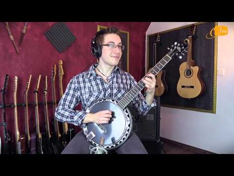 Ortega Guitars | Julian Scarcella plays the OBJ350/6-SBK