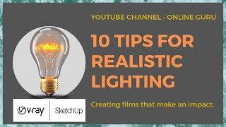 Light Bulb Vray Sketchup
