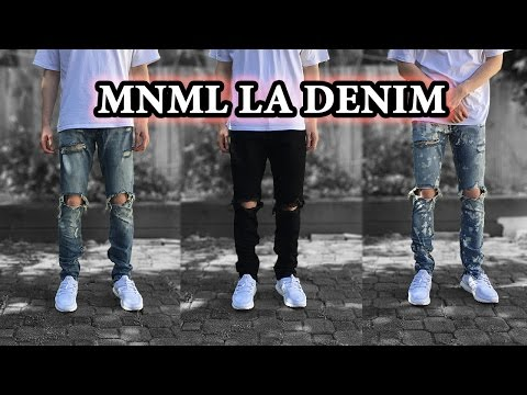 Best Affordable Jeans | MNML LA Denim Detailed Looks + On Body & Size Comparison