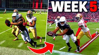 RECREATING THE TOP 10 PLAYS FROM NFL WEEK 5! Madden 22 Challenge