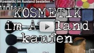 (Kosmetik) im Ausland bestellen: Versandkosten Teil 2