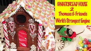 Gingerbread House 2 - Thomas And Friends World's Strongest Engine