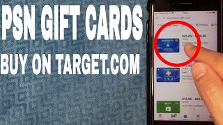 ✅  How To Buy Playstation PSN Gift Card On Target 🔴