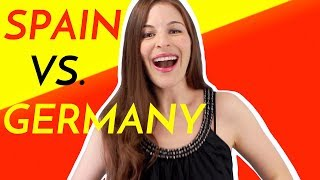 5 Differences SPAIN VS. GERMANY (by an American)