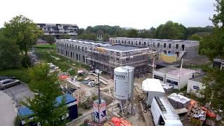 "Building side centrada ""de kwelder"" shot with Xiaomi mi drone 4k"