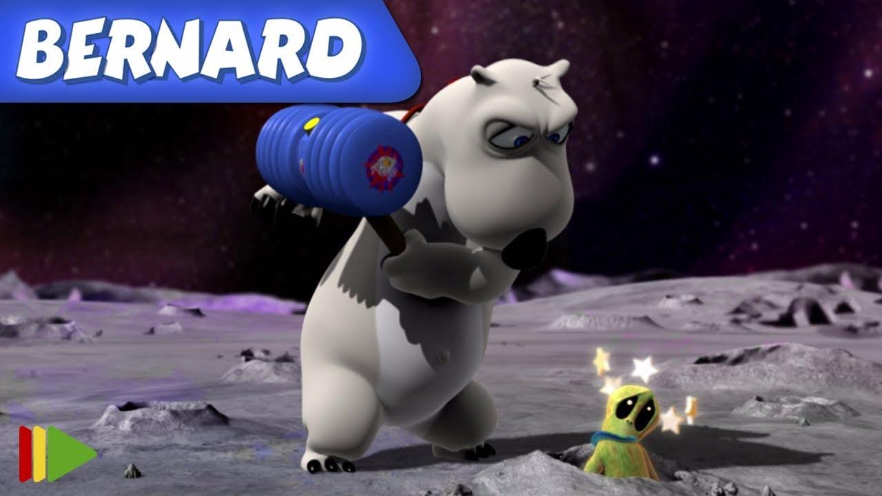 Bernard Bear   Encuentros extraterrestres 3 Y MÁS   Dibujos animados para niños