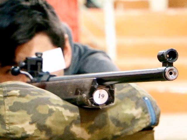 Женщины стреляют не хуже мужчин