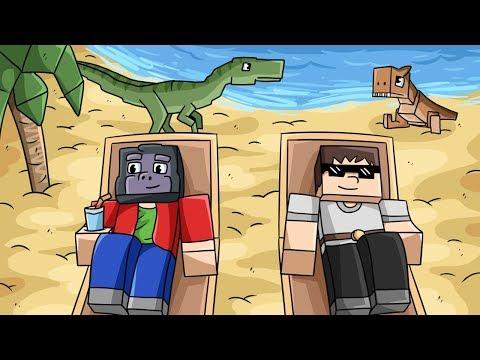 TROPICKÝ SVĚT! (Minecraft Dinosauři #7)