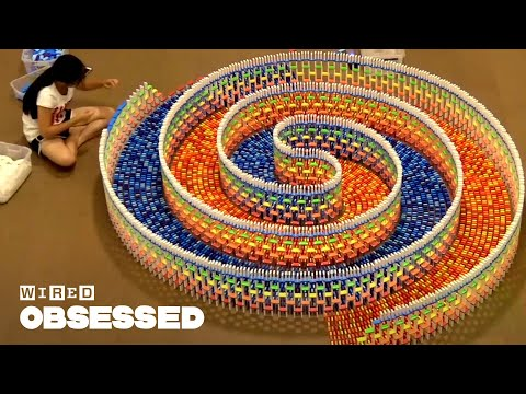 How the Internet's Most Famous Domino Chain Reactions are Made