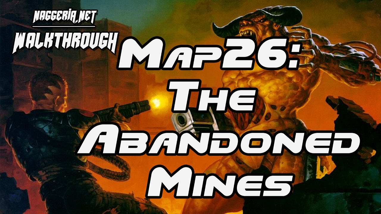 "[Doom 2 Komplettlösung] Map26: ""The Abandoned Mines"" Walkthrough (Ultra-Violence)"