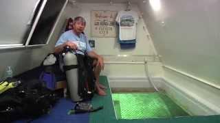 Tour of the underwater habitat
