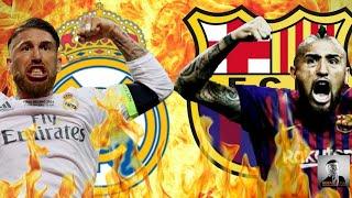 Sergio Ramos Vs Arturo Vidal Crazy Moments HD VIDEO