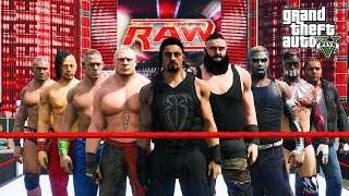 GTA 5 WWE 30 MAN ROYAL RUMBLE (GTA V Mods)