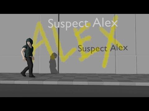 【Vocaloid / Big Al, Chris, Amy / blender】 Suspect Alex (original)
