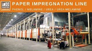 Paper Impregnation Line