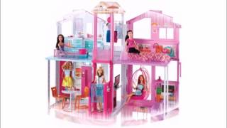 """Барби Городской дом Малибу Barbie от компании Интернет-магазин """"Timatoma"""" - видео"""