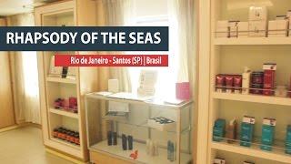 Um passeio pelo Rhapsody of the Seas