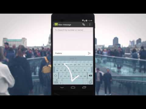 Video of SwiftKey Keyboard