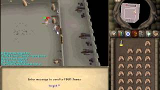 Runescape Oldshcool  Camelot Training room at level 80!