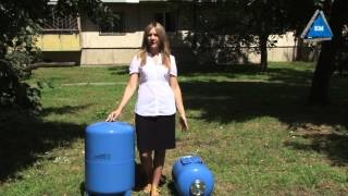 Гидроаккумулятор Aquasystem VAO 24 от компании ПКФ «Электромотор» - видео 3