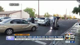 NEW: Uber grounding self-driving cars in Arizona
