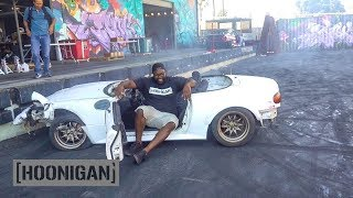 [HOONIGAN] DT 116: Hert Crashes the $200 Miata...Then Does Donuts