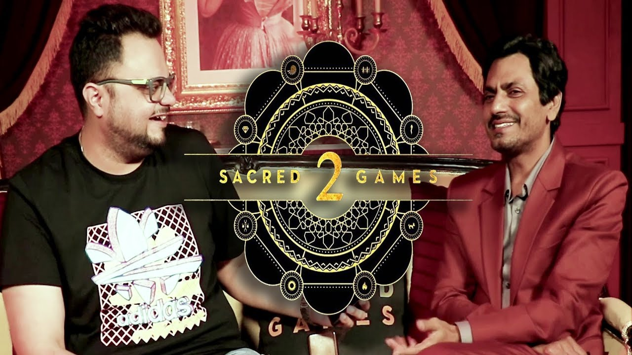 Sacred Games 2 by Nawazuddin AKA Gaitonde with RJ Rishi Kapoor