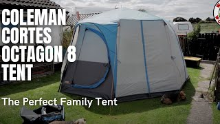 COLEMAN Cortes Octagon 8 Tent, The Perfect Family Tent