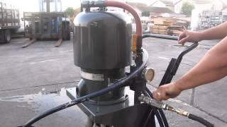 Graco King 45:1 Air Powered Paint Sprayer Spray Pump bulldog airless