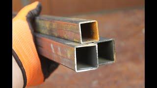 Без сварки и болтов, надежное соединение профильной трубы