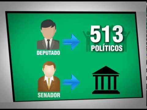 Como são divididas as vagas de deputados federais e senadores?