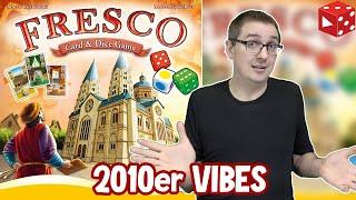 Fresco: Karten & Würfel Spiel - ziemlich Retro ! (Queen Games 2020)