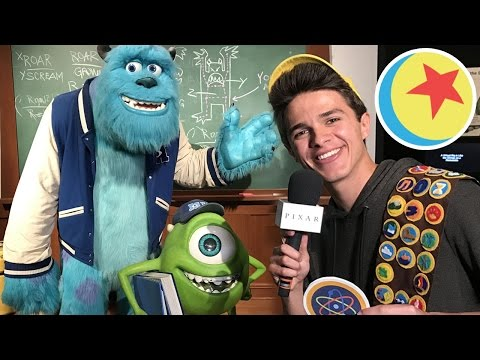 Brent Rivera Scavenger Hunt at The Science Behind Pixar Exhibit | Pixar LIVE