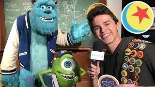 Brent Rivera Scavenger Hunt at The Science Behind Pixar Exhibit | Pixar LIVE