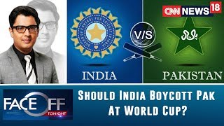 Can Cricket Be Bigger Than The Country? Should India Boycott Pakistan At World Cup? | Faceoff