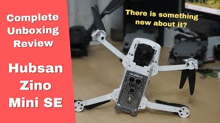 Hubsan Zino Mini SE 249g 4K Aerial Filming Drone Unboxing Review