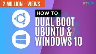 How to Dual Boot Ubuntu 18.04 and Windows 10 [2019]