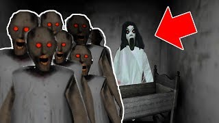 Slendrina vs 200 Granny Clones in Granny Horror Game (NEW MOD FOR GRANNY HORROR GAME)