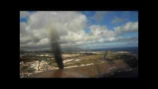 Flying to the Azores - Crosswind landing - Part 1