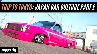 Japan Car Culture Travel Vlog (Part 2)