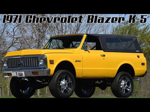 Video of '71 Blazer - $43,998.00 - Q2WH