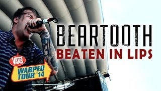 "Beartooth - ""Beaten In Lips"" LIVE! Vans Warped Tour (Sacramento,CA)"