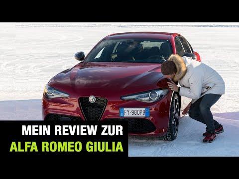 "2020 Alfa Romeo Giulia Q4 ""Veloce Ti"" (280 PS) ❄️ AWD Fahrbericht auf Eis | Review | Test-Drive 🇮🇹"