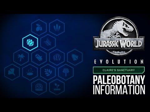 NEW PALEOBOTANY SCREEN! Brand New Details! | Jurassic World: Evolution Update