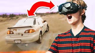Driving A Car in 3rd Person! (bad idea)