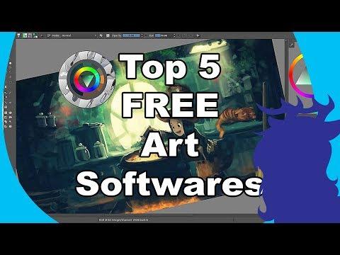 Top 5 Free Art Programs [Art Block- #4]